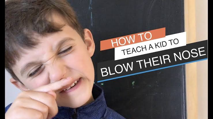 How to Teach Your Kid to Blow Their Nose