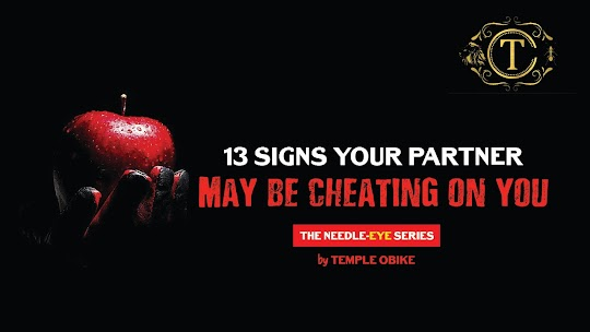signs cheating