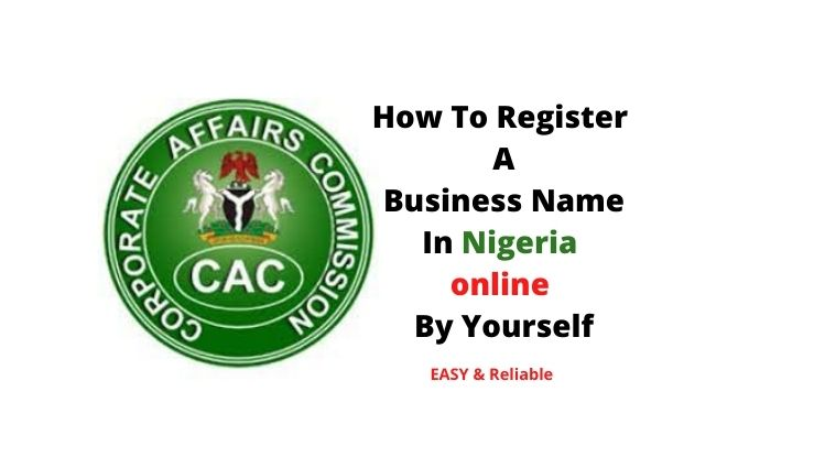 How To Register A Business Name In Nigeria online By Yourself