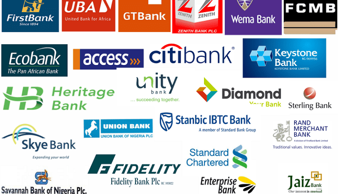 All bank in Nigeria